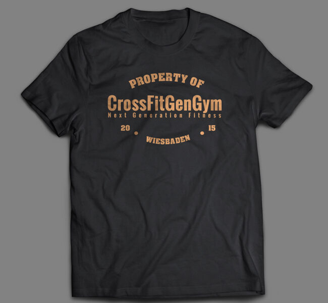 CrossFit GenGym T-Shirts